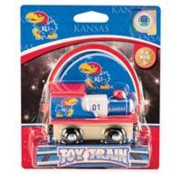 University of Kansas Team Wooden Toy Train