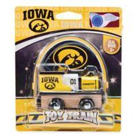 University of Iowa Team Wooden Toy Train