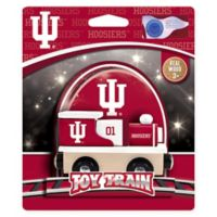 Indiana University Team Wooden Toy Train
