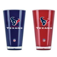 NFL Houston Texans 20 oz. Insulated Tumblers (Set of 2)