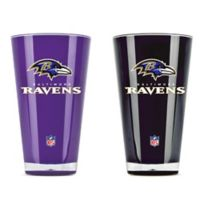 NFL Baltimore Ravens 20 oz. Insulated Tumblers (Set of 2)