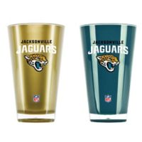 NFL Jacksonville Jaguars 20 oz. Insulated Tumblers (Set of 2)
