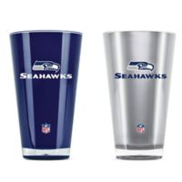 NFL Seattle Seahawks 20 oz. Insulated Tumblers (Set of 2)