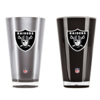 NFL Oakland Raiders 20 oz. Insulated Tumblers (Set of 2)