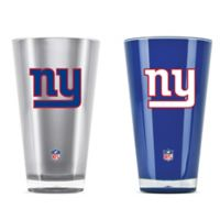 NFL New York Giants 20 oz. Insulated Tumblers (Set of 2)