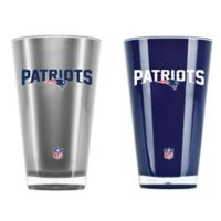 NFL New England Patriots 20 oz. Insulated Tumblers (Set of 2)