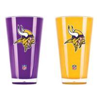 NFL Minnesota Vikings 20 oz. Insulated Tumblers (Set of 2)