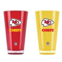 NFL Kansas City Chiefs 20 oz. Insulated Tumblers (Set of 2)