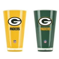 NFL Green Bay Packers 20 oz. Insulated Tumblers (Set of 2)