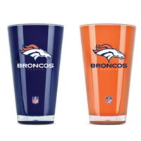 NFL Denver Broncos 20 oz. Insulated Tumblers (Set of 2)