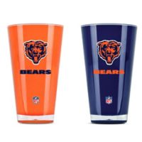 NFL Chicago Bears 20 oz. Insulated Tumblers (Set of 2)