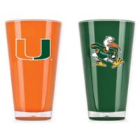 University of Miami 20 oz. Insulated Tumblers (Set of 2)