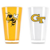 Georgia Tech University 20 oz. Insulated Tumblers (Set of 2)