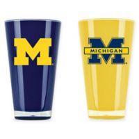 University of Michigan 20 oz. Insulated Tumblers (Set of 2)