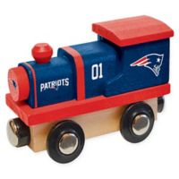 NFL New England Patriots Team Wooden Toy Train