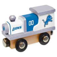 NFL Detroit Lions Team Wooden Toy Train