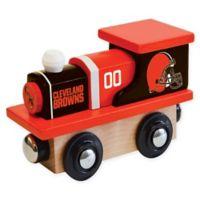 NFL Cleveland Browns Team Wooden Toy Train