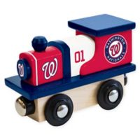 MLB Washington Nationals Team Wooden Toy Train