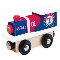 MLB Texas Rangers Team Wooden Toy Train
