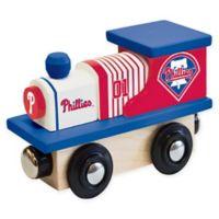 MLB Philadelphia Phillies Team Wooden Toy Train