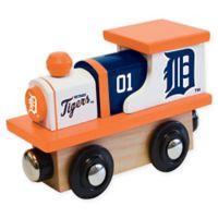 MLB Detroit Tigers Team Wooden Toy Train