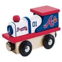 MLB Atlanta Braves Team Wooden Toy Train