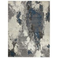Ren-Wil Cosmopolitan Camouflage 7-Foot 9-Inch x 9-Foot 8-Inch Area Rug in Grey/Ivory