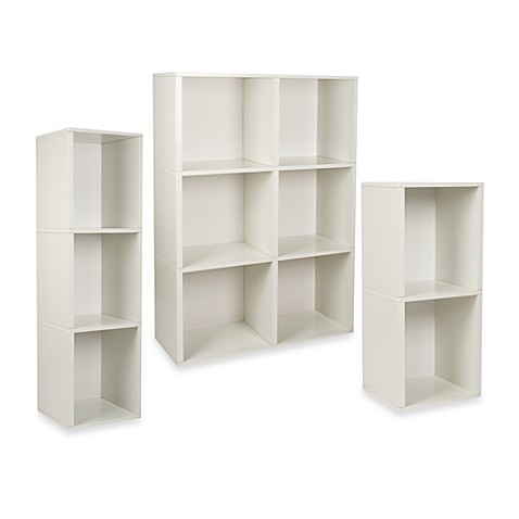 Way Basics Tool Free Assembly Bookcase And Storage Shelf In White Bed Bath Beyond