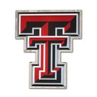 "Texas Tech University Medium ""Double T"" Logo Wall Art in Red/White/Black"