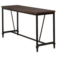 Hillsdale Trevino Counter Height Bar Table in Brown