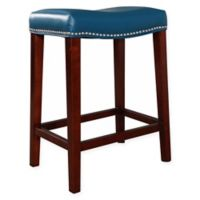 Abbyson Living Ellie Counter Stool in Turquoise