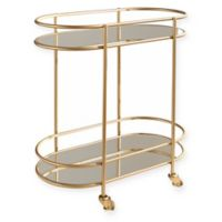 Abbyson Living® Quinn Bar Cart in Gold