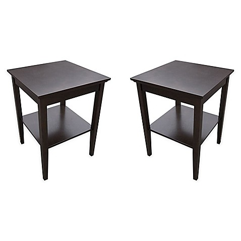 USB Accent Tables (Set of 2) - Bed Bath & Beyond