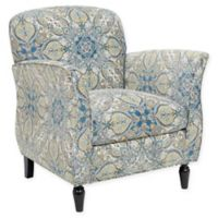 Madison Park Escher Accent Chair in Blue