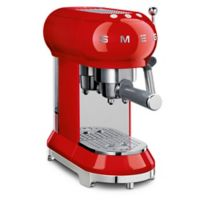 SMEG 50's Retro Style Espresso Maker in Red