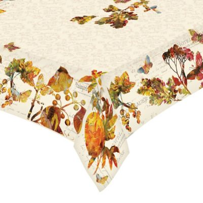 Laural Home® Antique Autumn 60 Inch X 120 Inch Oblong Tablecloth