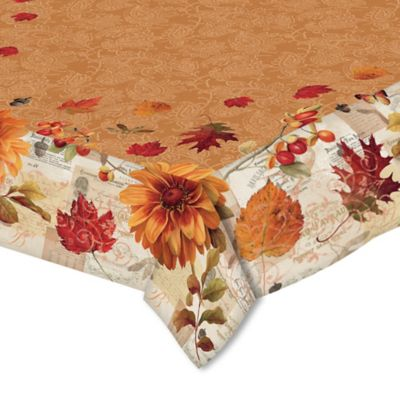 Marvelous Laural Home® Fall In Love 60 Inch X 120 Inch Oblong Tablecloth