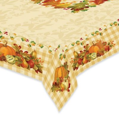 Laural Home® Happy Harvest 60 Inch X 84 Inch Oblong Tablecloth