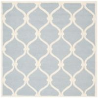 Safavieh Cambridge Emma 8-Foot Square Area Rug in Blue/Ivory