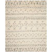Safavieh Casablanca Felicity 9' x 12' Area Rug in Ivory/Grey
