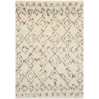 Safavieh Casablanca Phoebe 3' x 5' Area Rug in Ivory/Grey