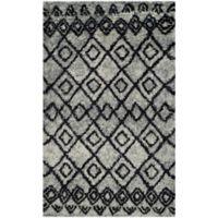Safavieh Casablanca Phoebe 3' x 5' Area Rug in Grey/Charcoal