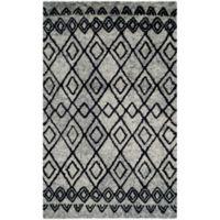 Safavieh Casablanca Phoebe 4' x 6' Area Rug in Grey/Charcoal