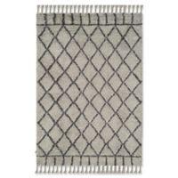 Safavieh Casablanca Saffron 6' x 9' Area Rug in Grey/Dark Grey