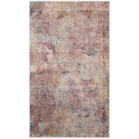 Safavieh Constellation Vintage 3-Foot 3-Inch x 5-Foot 7-Inch Lea Rug in Beige/Multi