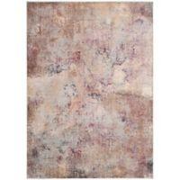 Safavieh Constellation Vintage 5-Foot 3-Inch x 7-Foot 6-Inch Lea Rug in Beige/Multi