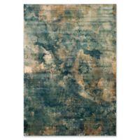 Safavieh Constellation Vintage 8-Foot x 11-Foot 2-Inch Lea Rug in Light Blue/Multi