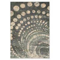 Safavieh Constellation Vintage 4-Foot x 5-Foot 7-Inch Leo Rug in Light Grey/Multi