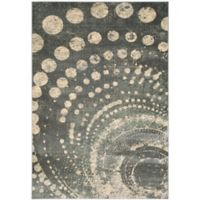Safavieh Constellation Vintage 5-Foot 3-Inch x 7-Foot 6-Inch Leo Rug in Light Grey/Multi