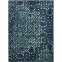 Safavieh Constellation Vintage 6-Foot 7-Inch x 9-Foot 2-Inch Aries Rug in Blue/Multi